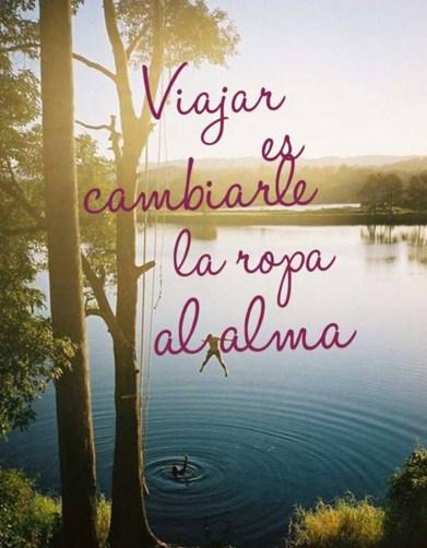 Frases hermosas sobre viajar