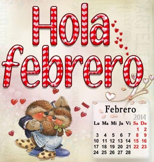 Imagenes Hola Febero