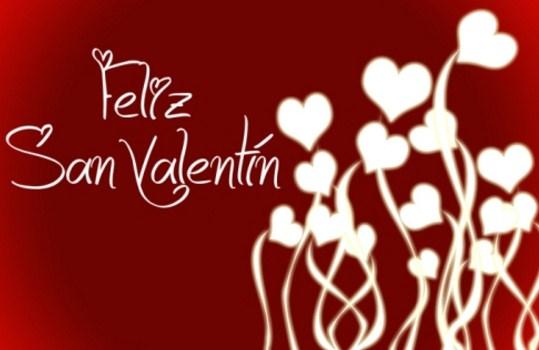 Postales con frases y corazones para el dia de los enamorados