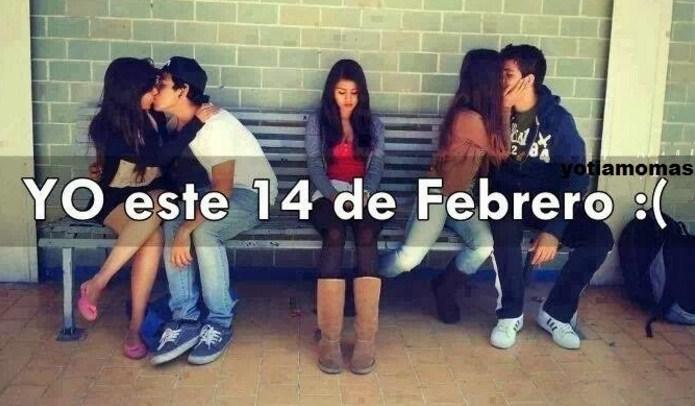 Yo este 14 de febrero