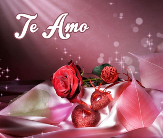 te amo con rosas