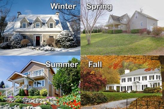 4 estaciones del año en ingles y español