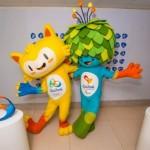 Mascota de los juegos olímpicos para colorear