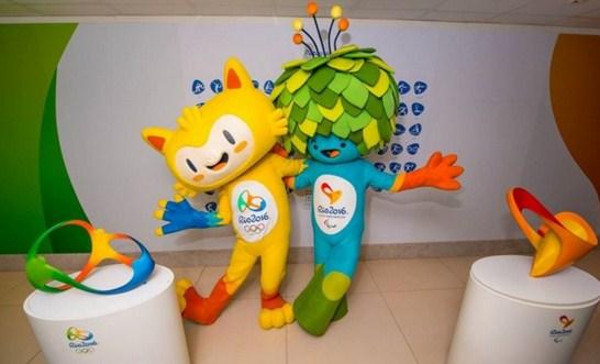 Imagenes de las mascotas de los Juegos Olímpicos de Río 2016