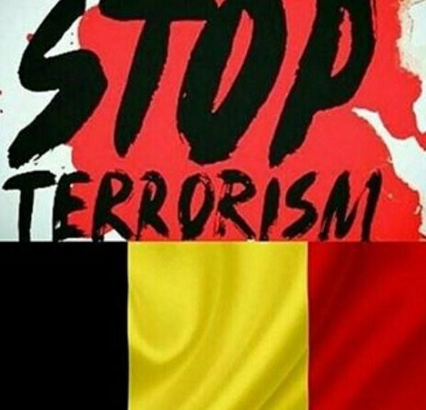 Stop terrorism Belgica 2016