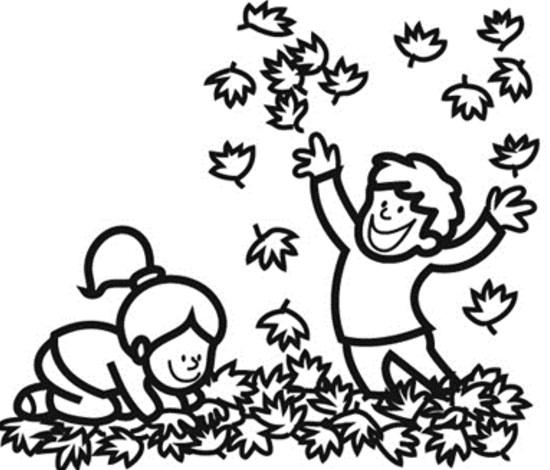 dibujos de otoño para colorear e imprimir