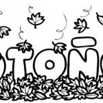 Imagenes de otoño para imprimir y colorear