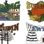 Imagenes de las estaciones del año en ingles