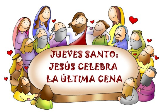 postales para jueves santo