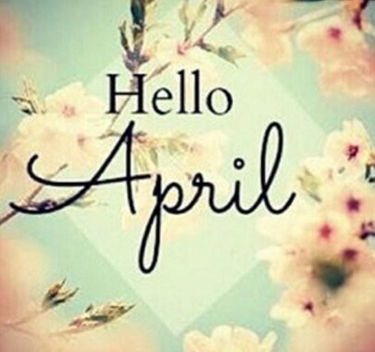 Imagenes de abril con frase en ingles