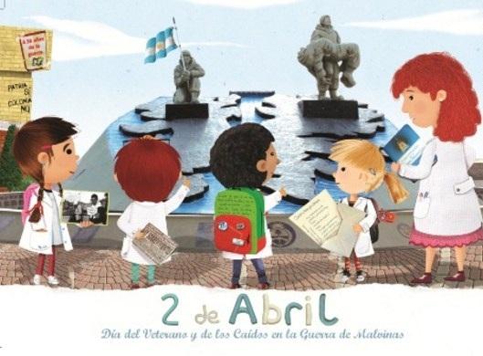 Imagenes para niños sobre el 2 de abril Malvinas