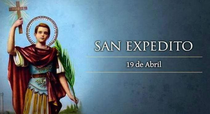 San Expedito 19 de abril imagenes