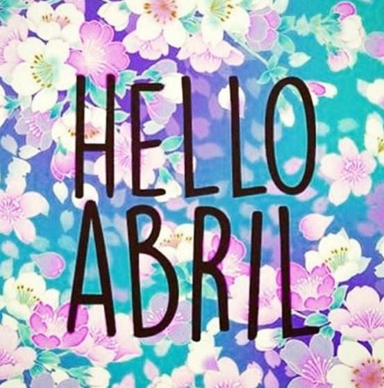 bienvenido abril para facebook