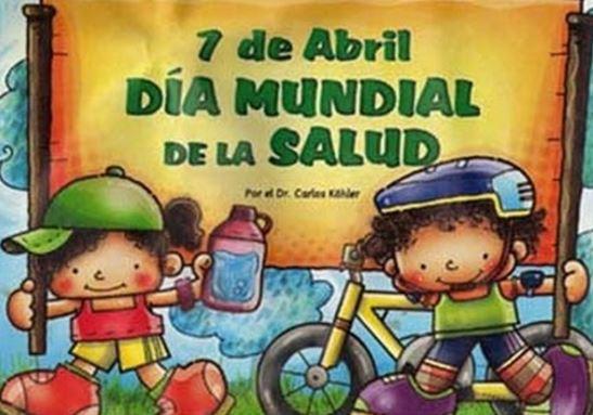 imagen del dia mundial de la salud para niños