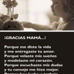 Imagenes gracias mama