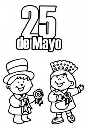 imagenes 25 de mayo infantiles