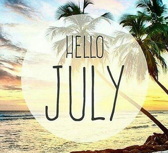 Imagenes de hola julio para facebook