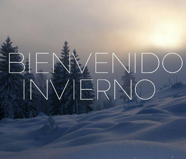 Imagenes para Facebook bienvenido invierno