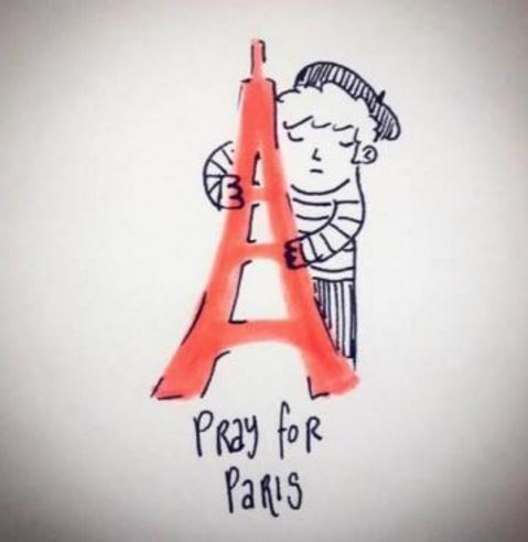 Pray for Francia