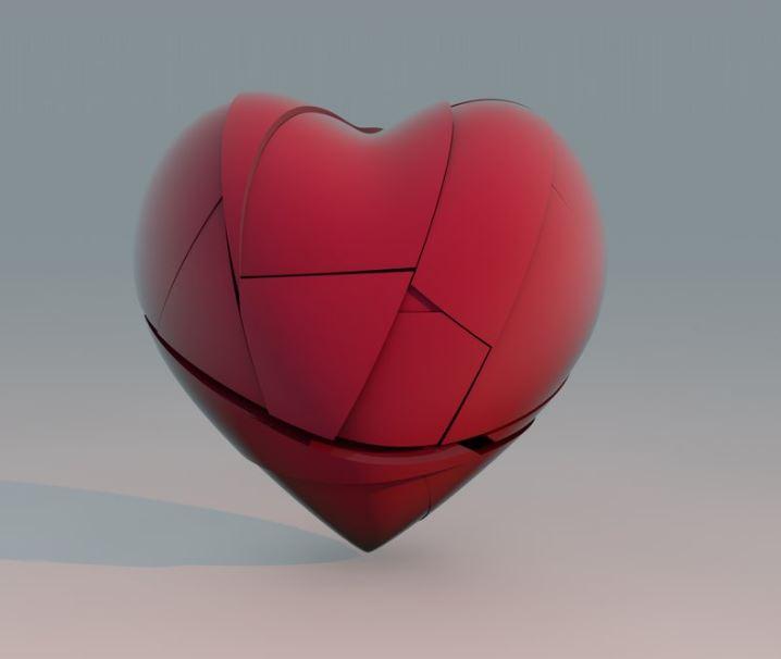 fotos de corazones rotos para descargar