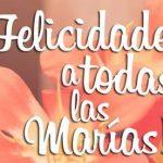 Imagenes para felicitar a las Marias