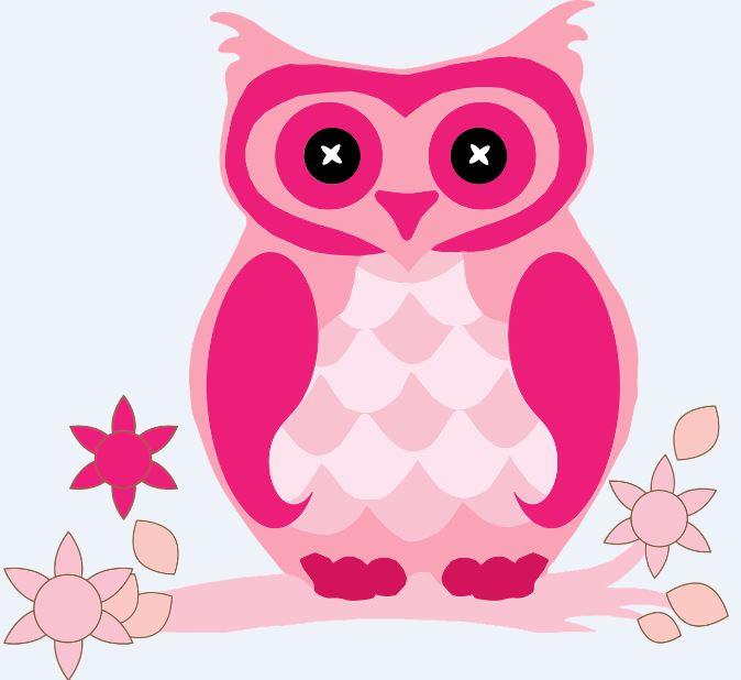 imagenes-de-lechuzas-pintadas-de-rosa