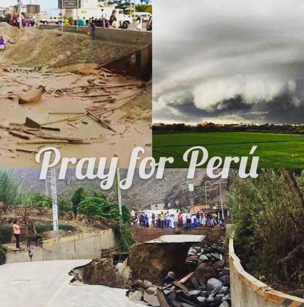 Imágenes #PrayForPeru