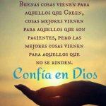 Imagenes y frases de confianza en Dios