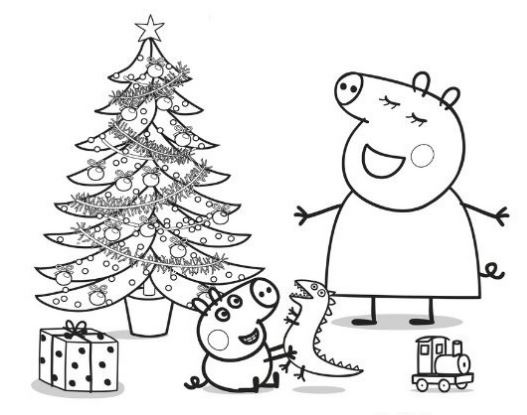 Dibujos De Peppa Para Colorear E Imprimir: Imágenes De Peppa Pig Para Colorear E Imprimir