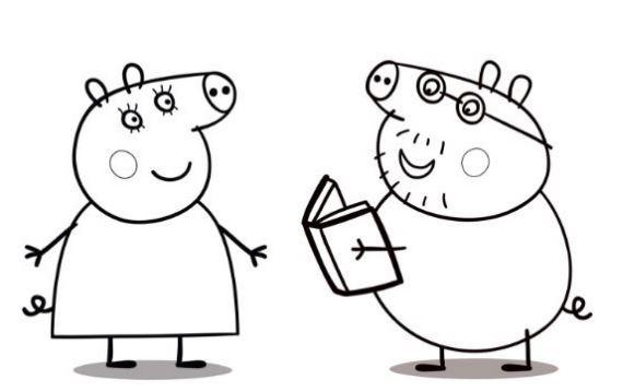 Imágenes De Peppa Pig Para Colorear E Imprimir