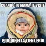 Imagenes graciosas de bebes con frases divertidas