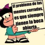 Imagenes de Mafalda con frases de reflexion